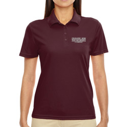 Crusader Mom Origin Performance Polo