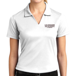 Crusader Ladies Dri Mesh Polo